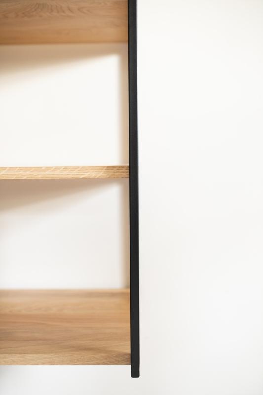 1img 3233 1 Półka dębowa kubik na ścianę