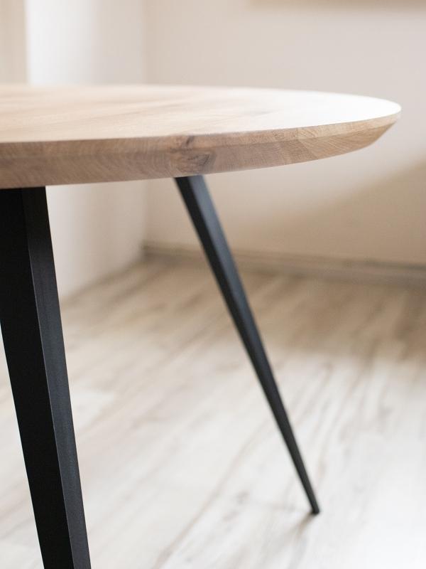 IMG 5514 1 Okrągły rustykalny stół