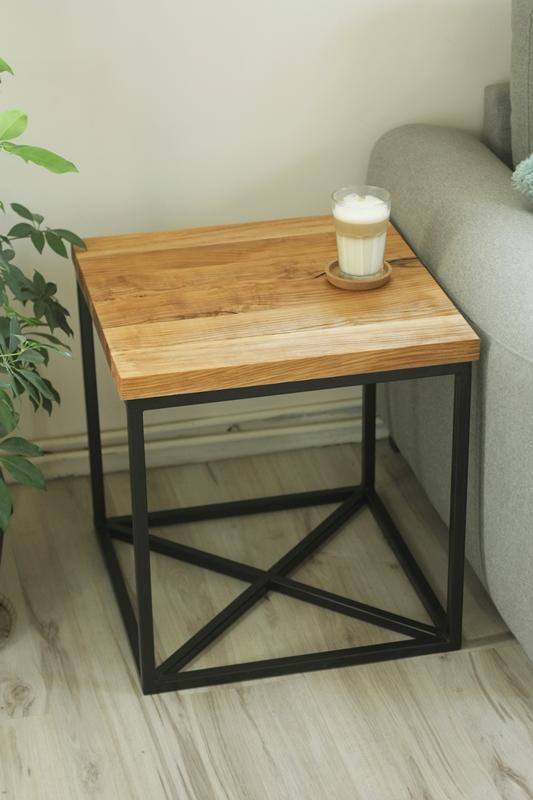 szczotkowany stolik kawowy4 Szczotkowany stolik z jesionu