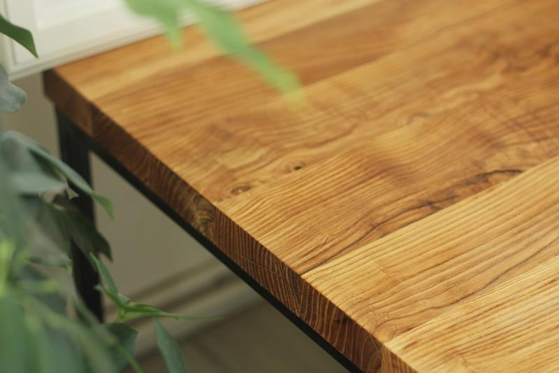 szczotkowany stolik kawowy6 Szczotkowany stolik z jesionu