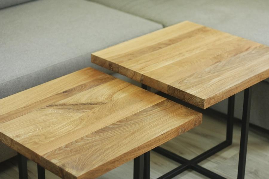 IMG 6104 Podwójne stoliki kawowe   bliźniaki