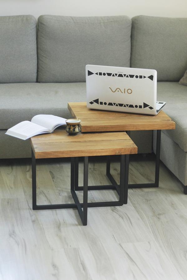 IMG 6182 Podwójne stoliki kawowe   bliźniaki