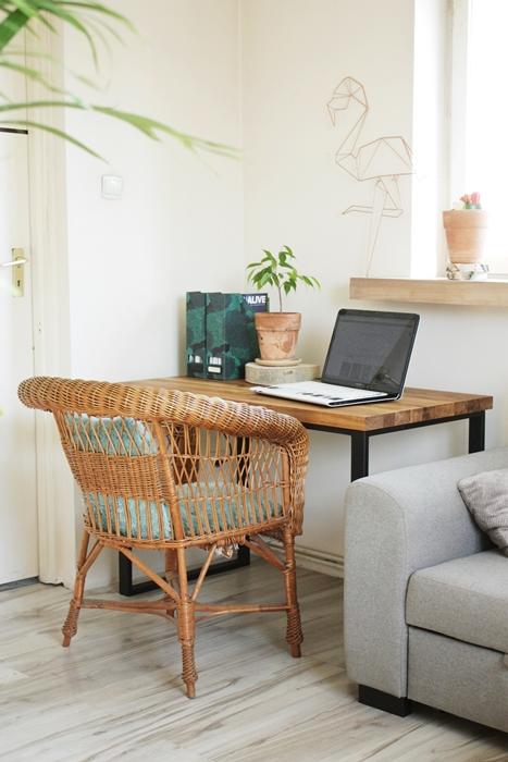 aIMG 6554 Bardzo rustykalne biurko z dębu