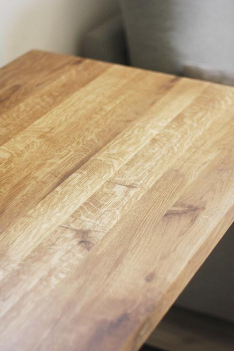 aIMG 6603 Bardzo rustykalne biurko z dębu