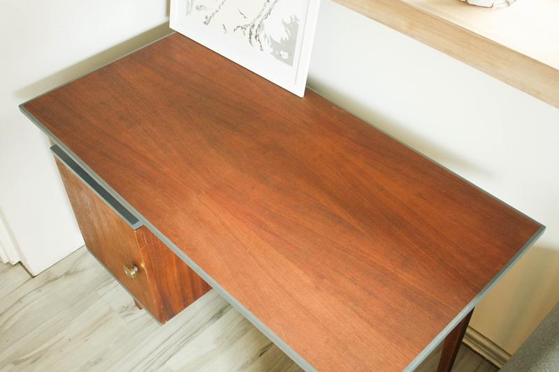 metamorfoza biurka prl0174 Metamorfoza biurka PRL