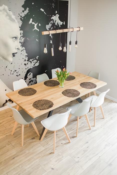stol sskosne nogi009 Rustykalny stół dębowy skośne nogi