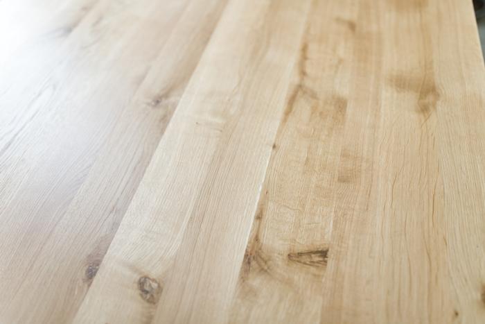 stol sskosne nogi016 Rustykalny stół dębowy skośne nogi