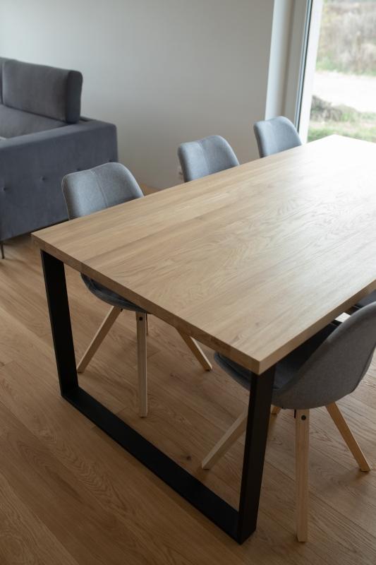 1IMG 3295 1 Rozkładany stół dębowy U