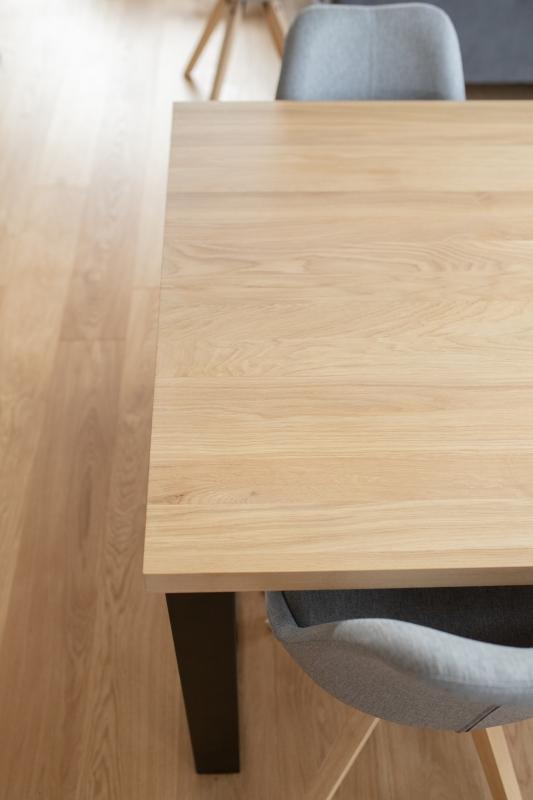 1IMG 3298 1 Rozkładany stół dębowy U