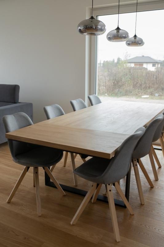 1IMG 3338 1 Rozkładany stół dębowy U