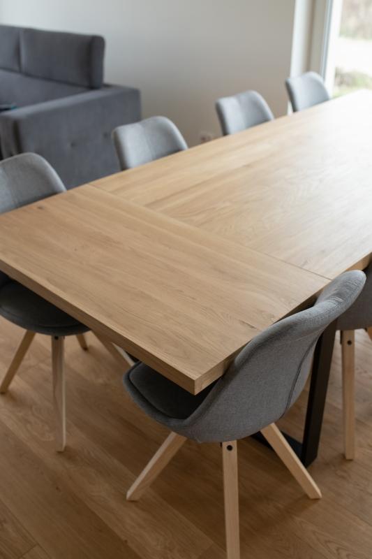 1IMG 3358 1 Rozkładany stół dębowy U