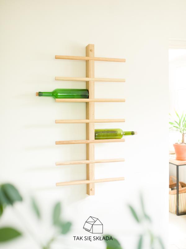 produkt Drewniana półka na wino