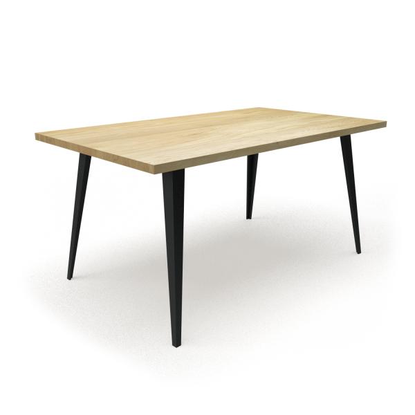 stół industrialny skośne nogi