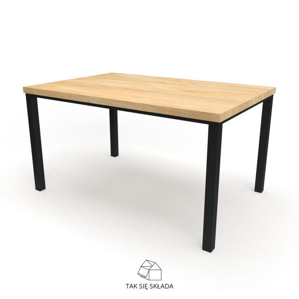 produkt stół industrialny proste nogi
